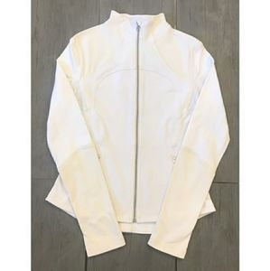 Lululemon (Rare) Forme Jacket Brushed white cream